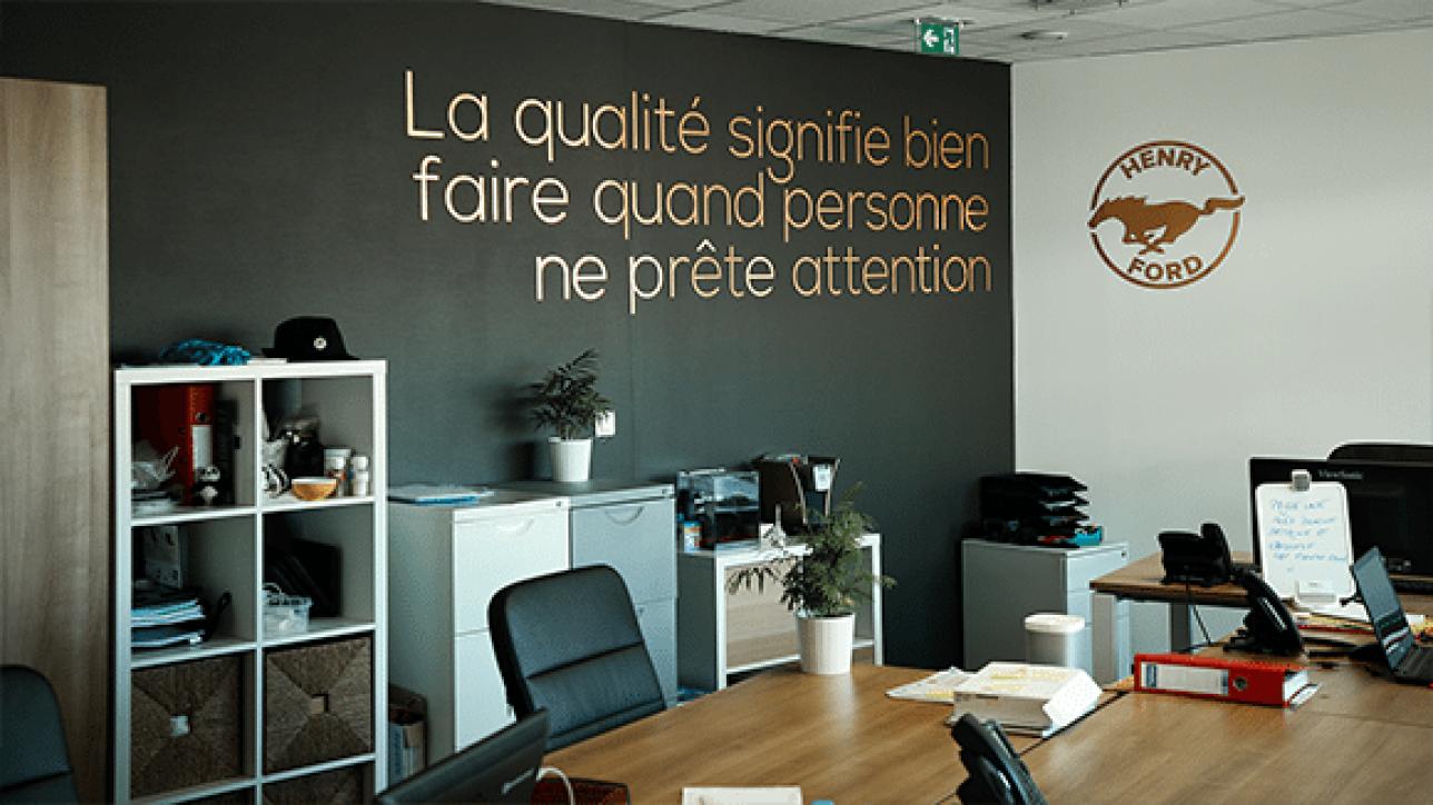 Bureau fermé Lyon