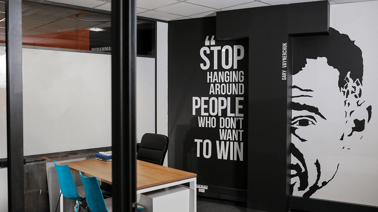 Design de bureaux fermés Lyon 7