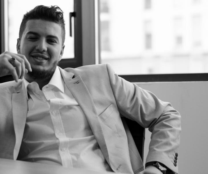 Lounis Oudjiane, coworker entrepreneur à Lyon 7