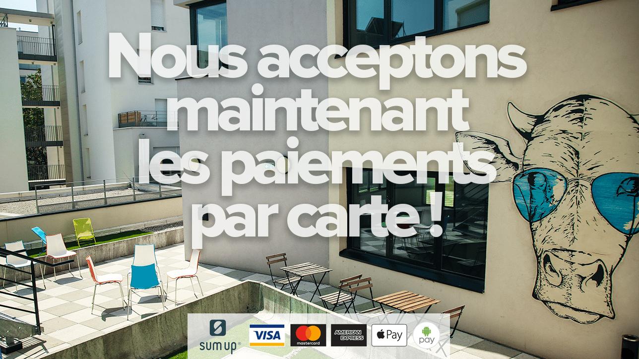 Les paiements par carte sont maintenant acceptés par Entrepreneurial People