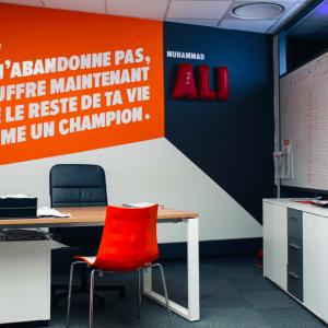Bureau Mohamed Ali dans notre espace de Coworking